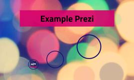 Example Prezi