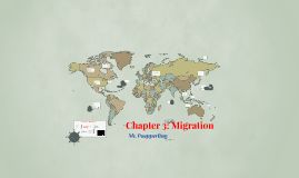 AP Geography Ch. 3: Migration