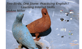 Two Birds, One Stone: Practicing English /