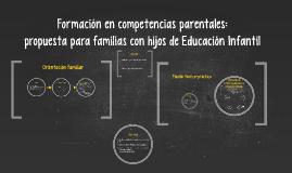 Copy of Formación en competencias parentales: