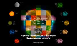Optická spektroskopie v astronomii