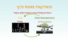 Copy of AIS Parent Teacher Meeting 2013