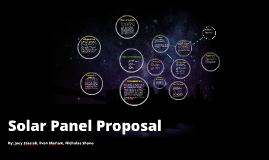 Solar Panel Proposal