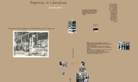 Rejection to Classical Liberalism