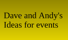 Cycling promotional events and activities.