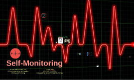 Self-Monitoring, Chapter 5