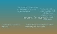 Respect for Diversity