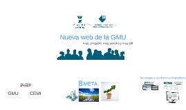 Nueva página web de la