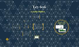 Ley 606
