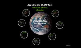 Copy of CRAAP Test