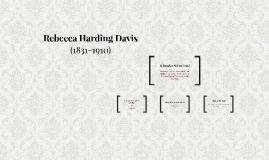 Rebecca Harding Davis