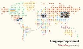 Language Department