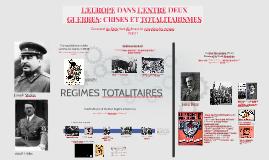 3ème SIA - L'Europe dans l'entre-deux guerres et totalitarismes