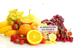 Copy of ALIMENTACION SALUDABLE