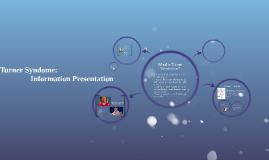 Turner Syndome: Information Presentation