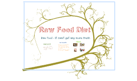 Copy of Raw Food Diet