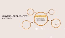 SERVICIOS DE EDUCACIÒN ESPECIAL