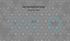 Sales Recruitment and Training