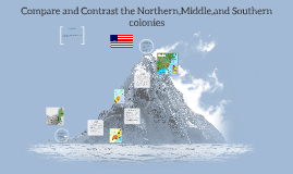 Compare and Contrast the Northern,Middle,Southern colonies