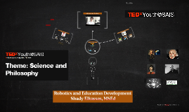 TEDx Robotics and Education Development