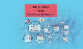 Organización como