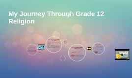 My Journey Through Grade 12 Religion