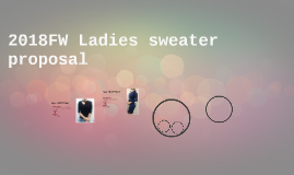 2018FW Ladies sweater proposal