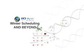 Bio Sci 2A Scheduling