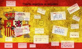 Preterito imperfecto de subjuntivo-español