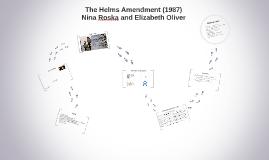 Helms amendment homosexuality