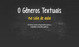 O Genêros Textuais