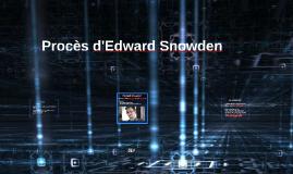 Procès d'Edward Snowden