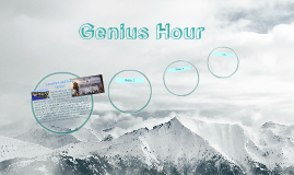 Copy of Genius Hour