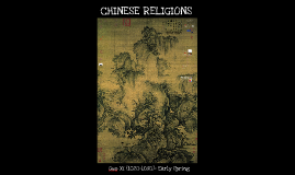 Chinese Religions (Overview)