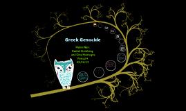Ottoman Greek Genocide