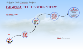 CALABRIA: TELL US YOUR STORY (italian)