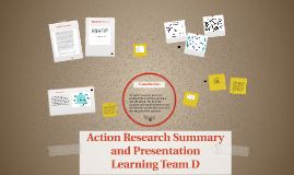 Action Research Study and Presentation
