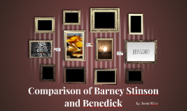 Comparison of Barney Stinson         and Benedick
