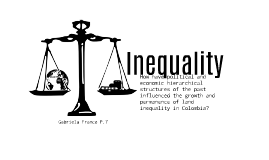Inequality in Colombia:
