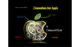 Copy of  l'innovation chez Apple