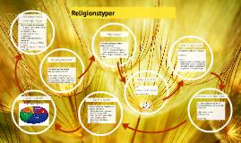 Copy of Religionstyper