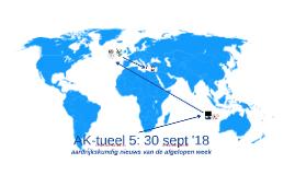 AK-tueel 5: 30 september '18