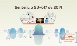 Sentencia SU-617 de 2014
