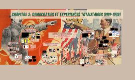 CHAPITRE 2: LES REGIMES TOTALITAIRES DANS LES ANNEES 1930