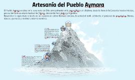 Copy of Artesanía Aymara