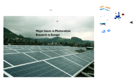 Copy of SoPhia - Research Infrastructure: The Accessible Trans-National Platform for Efficient PV Research in Europe