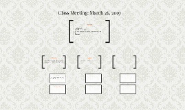 Class Meeting: March 21, 2017