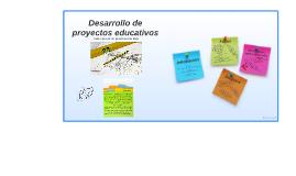 Desarrollo de proyectos educativos