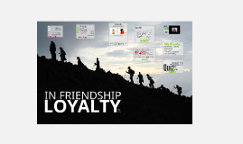 Loyalty In A Friendship