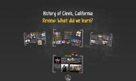History of Clovis, California